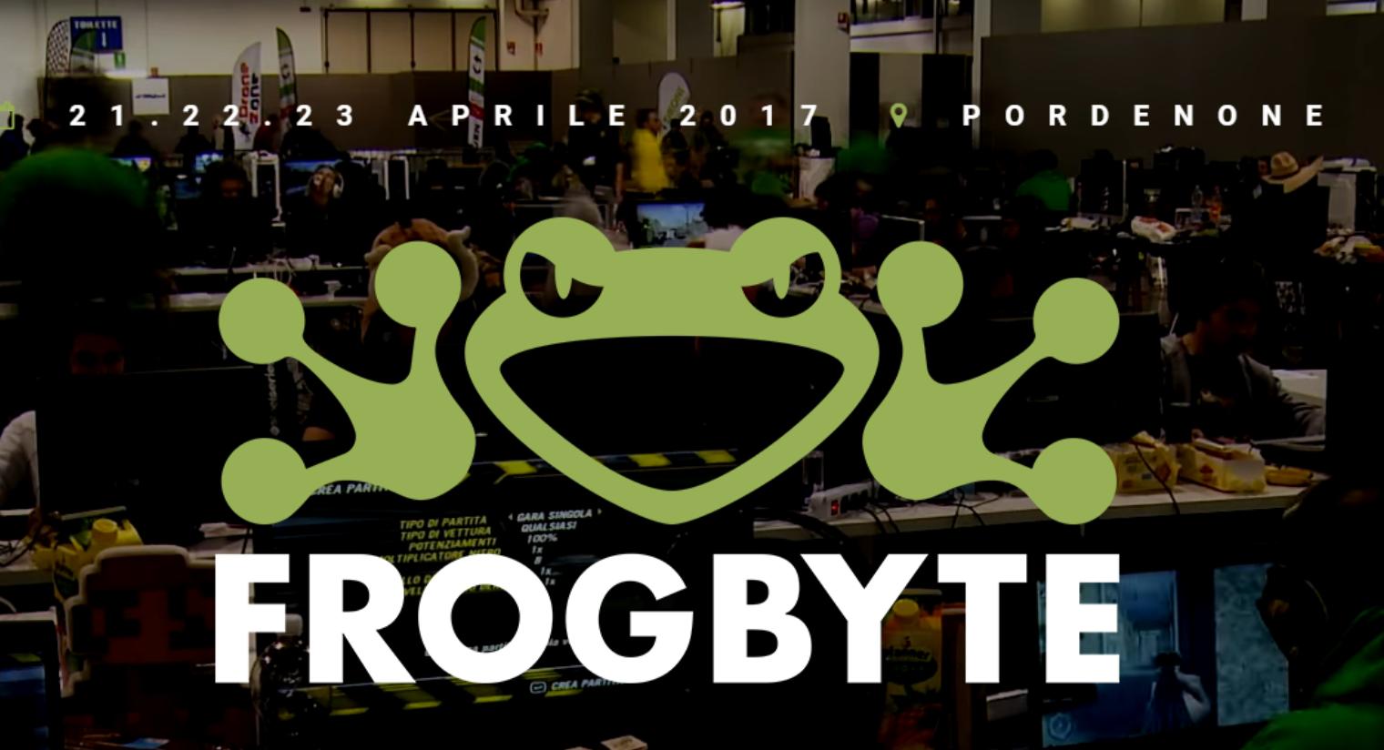 Nerdgate sarà presente a Frogbyte 2017