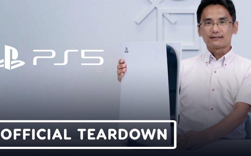 PlayStation 5: Il Teardown ufficiale mostra l'interno della console