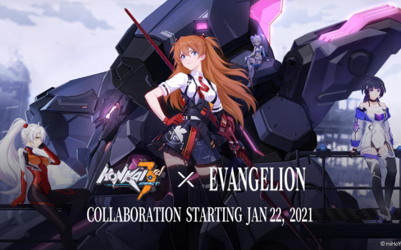 Honkai Impact 3rd festeggia l'uscita del nuovo film di Evangelion con un evento in-game