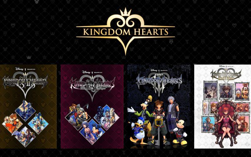 Kingdom Hearts – L'intera serie sbarca su PC in esclusiva per Epic Store