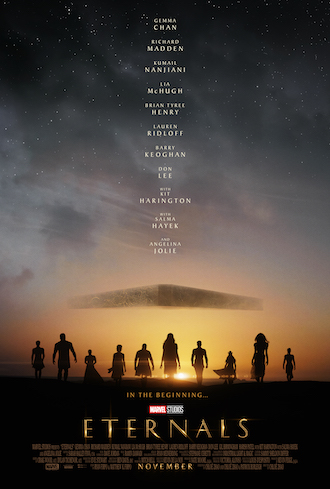 The Eternals: la Marvel rilascia il trailer del suo nuovo film