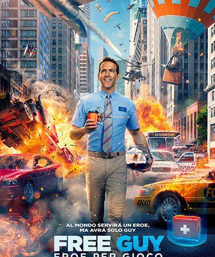 Free Guy- Eroe per gioco: Online il nuovo trailer del film di Ryan Reynolds