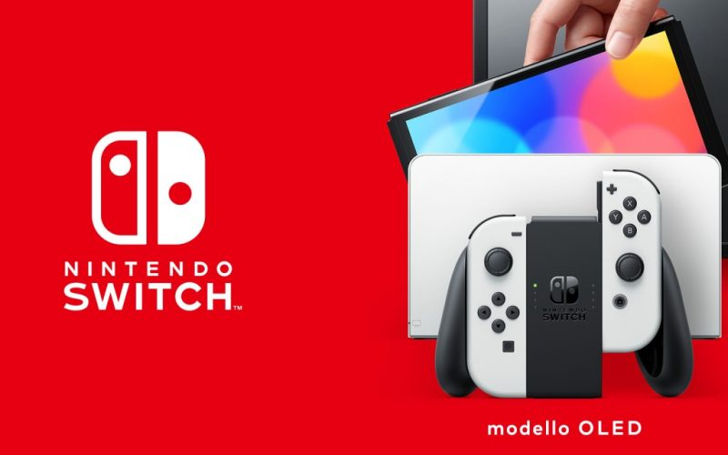 Nintendo Switch Oled: Arriva a sorpresa la nuova console Nintendo