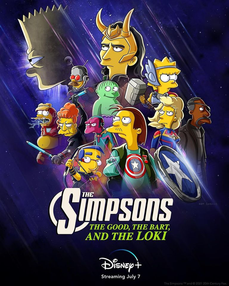 The Simpsons: Arriva The Good, The Bart and The Loki